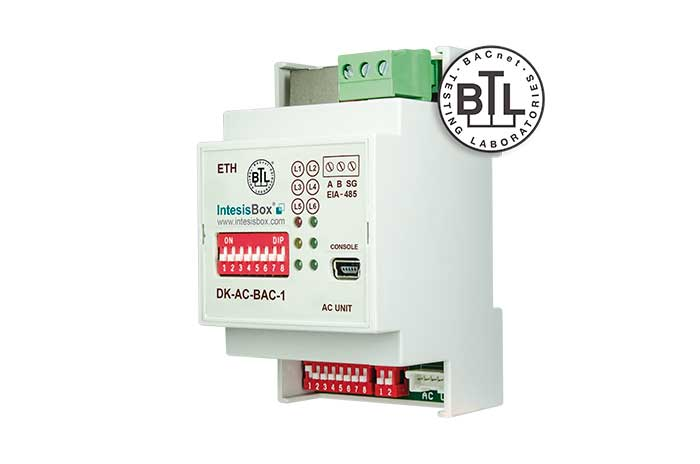 Daikin AC Domestic units to BACnet interface