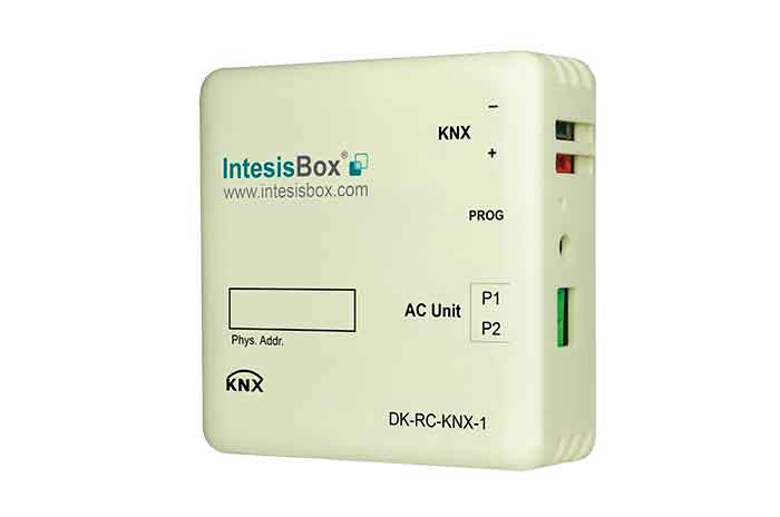 Daikin VRV and Sky systems to KNX Interface.