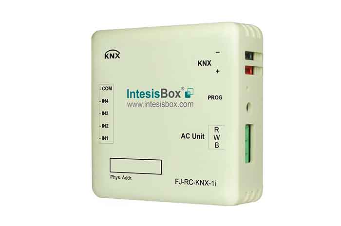 Fujitsu RAC and VRF systems to KNX Interface with Binary Inputs