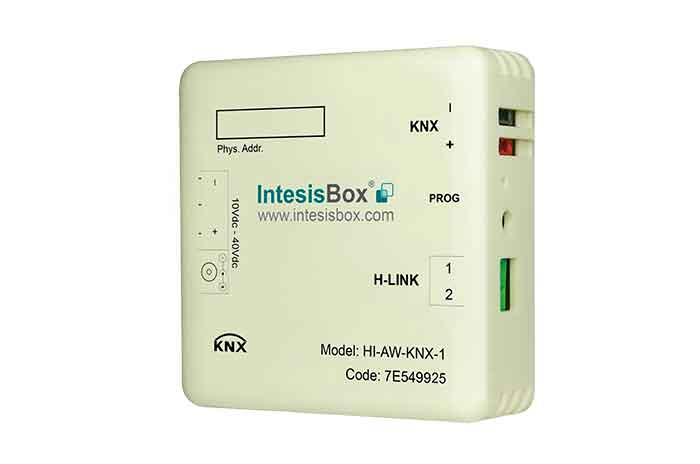Hitachi Air-to-Water to KNX Interface