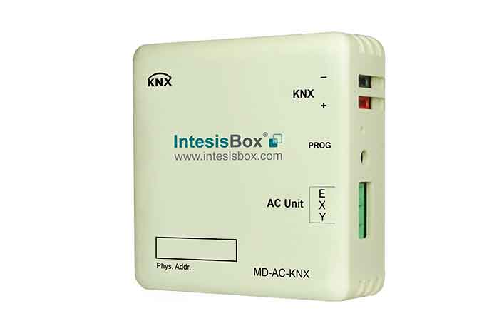 Midea VRF and commercial lines systems to KNX Gateway