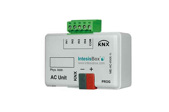 Mitsubishi Electric AC to KNX Interface with Binary Inputs
