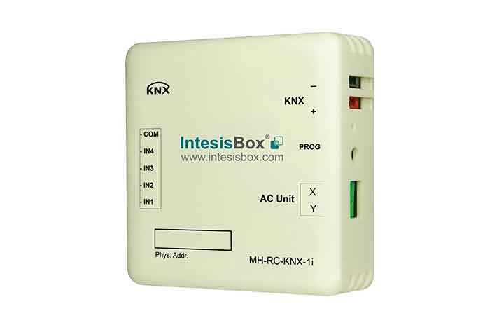Mitsubishi Heavy Industries FD and KX6 systems to KNX Interface with Binary Inputs