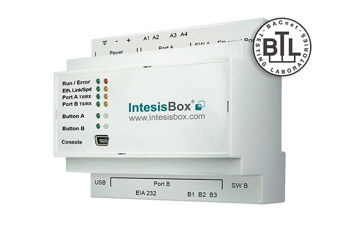 IntesisBox Modbus series