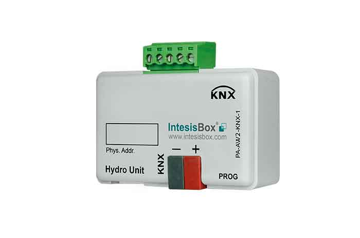 Panasonic Air to Water to KNX Interface