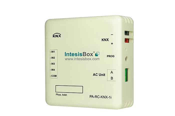 Panasonic FS and FSM systems to KNX Interface with Binary Inputs