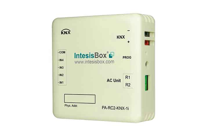 Panasonic ECOi and PACi systems to KNX Interface with Binary Inputs