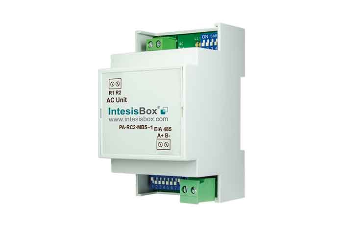 Panasonic ECOi and PACi systems to Modbus Interface