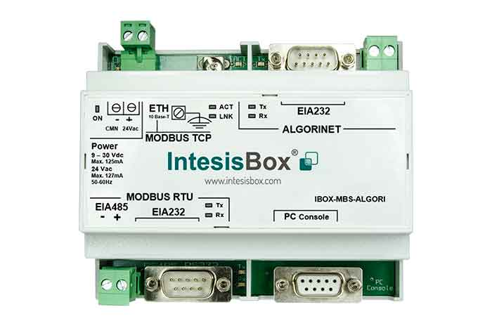Algorinet to Modbus Gateway