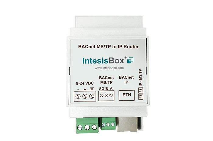 BACnet MS/TP to BACnet IP router