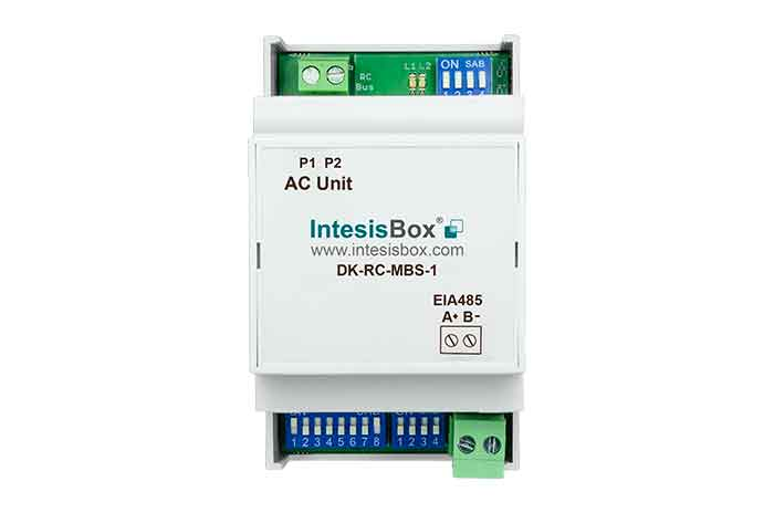Daikin VRV and Sky systems to Modbus Interface