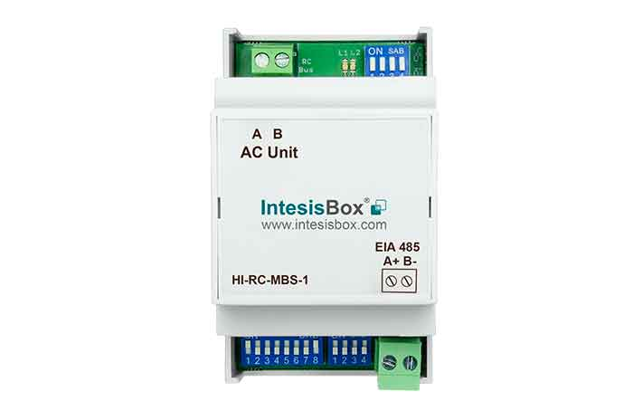 Hitachi VRF SET FREE systems to Modbus Interface