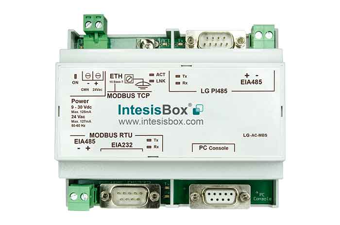 LG VRF systems to Modbus Gateway