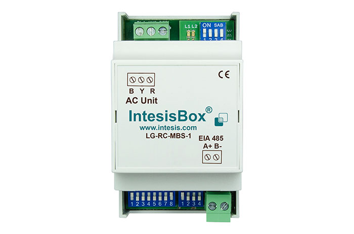 LG VRF systems to Modbus Interface