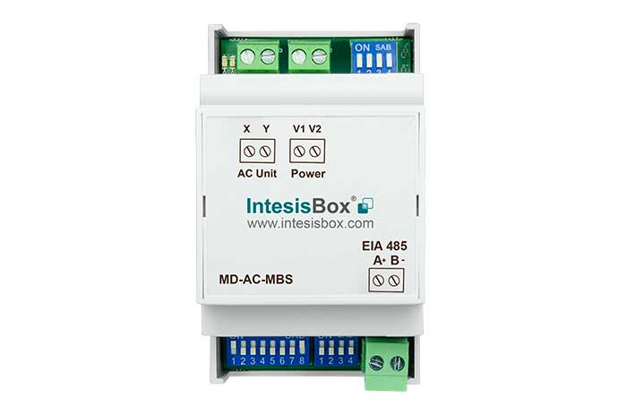 Midea VRF systems and commercial lines to Modbus Gateway