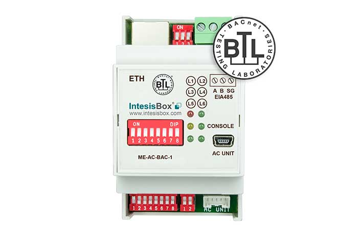 Mitsubishi Electric AC units to BACnet Interface